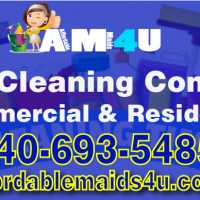 Maid Services Stafford Virginia Northern VA Woodbridge Lorton Alexandria